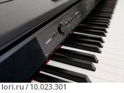 Клавиатура электронного пианино(фортепиано) (2015 год). Редакционное фото, фотограф Игорь Опойков / Фотобанк Лори