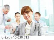 Successful leader . Стоковое фото, фотограф Dmitriy Shironosov / PantherMedia / Фотобанк Лори