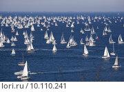 Купить «Barcolana 2010, The Trieste regatta », фото № 10110241, снято 23 февраля 2019 г. (c) PantherMedia / Фотобанк Лори