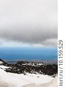 Купить «Etna, Clouds, Sea», фото № 10159529, снято 18 октября 2018 г. (c) PantherMedia / Фотобанк Лори