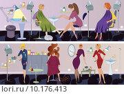 Купить «Beauty salon  banner pedicure», фото № 10176413, снято 19 января 2020 г. (c) PantherMedia / Фотобанк Лори