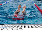 Купить «man water active swimming swim», фото № 10188245, снято 26 марта 2019 г. (c) PantherMedia / Фотобанк Лори