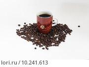 Купить «brown brunette coffee beans rust», фото № 10241613, снято 23 февраля 2019 г. (c) PantherMedia / Фотобанк Лори