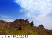 Купить «Gran canaria Pargana muntains Canary islands», фото № 10242513, снято 23 февраля 2019 г. (c) PantherMedia / Фотобанк Лори