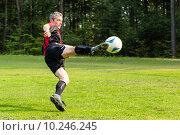 Купить «man sport sports player soccer», фото № 10246245, снято 26 марта 2019 г. (c) PantherMedia / Фотобанк Лори