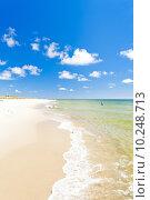 Купить «beach on Hel Peninsula, Pomerania, Poland», фото № 10248713, снято 23 февраля 2019 г. (c) PantherMedia / Фотобанк Лори