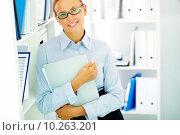 Купить «Female accountant», фото № 10263201, снято 16 августа 2018 г. (c) PantherMedia / Фотобанк Лори