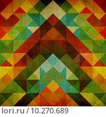 Купить «Geometric retro background», иллюстрация № 10270689 (c) PantherMedia / Фотобанк Лори