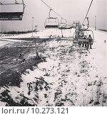 Подъемник в горах. Редакционное фото, фотограф городов сергей сергеевич / Фотобанк Лори