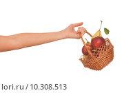 Купить «fruit basket», фото № 10308513, снято 23 октября 2019 г. (c) PantherMedia / Фотобанк Лори