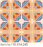 Купить «Block Geometric Pattern», иллюстрация № 10314245 (c) PantherMedia / Фотобанк Лори
