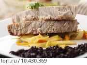 healthy fish grilled steak tuna. Стоковое фото, фотограф Bernd Jürgens / PantherMedia / Фотобанк Лори