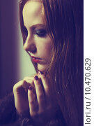 Купить «Plea. Confession. Sad Woman Praying. Grace. Sorrow and Hope», фото № 10470629, снято 23 октября 2018 г. (c) PantherMedia / Фотобанк Лори