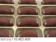 Купить «Close-up look of moon shape chocolate  », фото № 10483409, снято 15 октября 2018 г. (c) PantherMedia / Фотобанк Лори