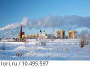 Нефтеюганск зимой (2013 год). Стоковое фото, фотограф Андрей Жвакин / Фотобанк Лори