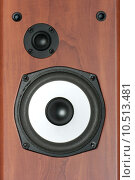 Купить «2-way hifi loudspeaker background», фото № 10513481, снято 18 июля 2018 г. (c) PantherMedia / Фотобанк Лори