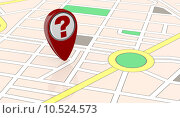 Купить «street map», фото № 10524573, снято 21 мая 2018 г. (c) PantherMedia / Фотобанк Лори