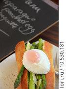 Купить «Egg And Asparagus Roll», фото № 10530181, снято 23 октября 2019 г. (c) PantherMedia / Фотобанк Лори
