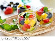 Купить «Fruits salad», фото № 10535557, снято 15 ноября 2019 г. (c) PantherMedia / Фотобанк Лори
