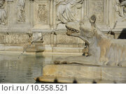 Купить «Fonte Gaia (Siena)», фото № 10558521, снято 26 марта 2019 г. (c) PantherMedia / Фотобанк Лори