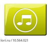 Купить «symbol icon music button note», фото № 10564021, снято 23 февраля 2019 г. (c) PantherMedia / Фотобанк Лори