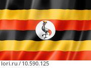 Купить «Uganda flag», иллюстрация № 10590125 (c) PantherMedia / Фотобанк Лори