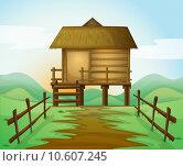 Купить «a hut», иллюстрация № 10607245 (c) PantherMedia / Фотобанк Лори