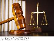 Купить «Legal gavel on a law book », фото № 10612777, снято 6 июля 2020 г. (c) PantherMedia / Фотобанк Лори