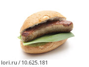 Купить «roll sausage kaiser grillwurst lauchblatt», фото № 10625181, снято 23 октября 2019 г. (c) PantherMedia / Фотобанк Лори