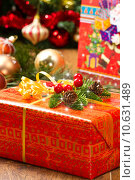 Купить «Christmas Tree and Christmas gift boxes», фото № 10631489, снято 4 апреля 2020 г. (c) PantherMedia / Фотобанк Лори