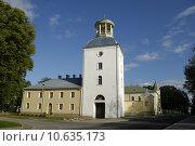 Купить «tower castle palace chateau latvia», фото № 10635173, снято 25 мая 2018 г. (c) PantherMedia / Фотобанк Лори