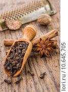 Купить «spice spices cinnamon cinamon pinks», фото № 10645705, снято 14 ноября 2018 г. (c) PantherMedia / Фотобанк Лори