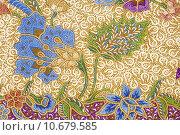 Batik design . Стоковое фото, фотограф Erik de Graaf / PantherMedia / Фотобанк Лори