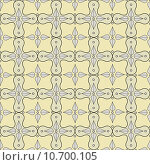 Купить «Seamless pattern with victorian motifs and colors», иллюстрация № 10700105 (c) PantherMedia / Фотобанк Лори