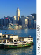 Купить «Hong Kong modern city», фото № 10703693, снято 27 июня 2019 г. (c) PantherMedia / Фотобанк Лори