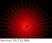 heart on starburst . Стоковая иллюстрация, иллюстратор Kirsty Pargeter / PantherMedia / Фотобанк Лори