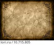 Купить «Grunge background with decorative border», иллюстрация № 10715805 (c) PantherMedia / Фотобанк Лори
