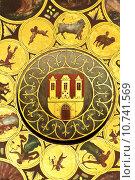 Купить «Wheel of zodiac in Prague», фото № 10741569, снято 23 июля 2019 г. (c) PantherMedia / Фотобанк Лори