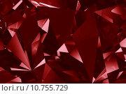 Купить «Red crystal facet background», фото № 10755729, снято 26 марта 2019 г. (c) PantherMedia / Фотобанк Лори
