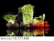 Купить «Colofrul vegetable variaton.», фото № 10777845, снято 23 апреля 2019 г. (c) PantherMedia / Фотобанк Лори