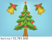 Купить «Background of christmas », иллюстрация № 10781845 (c) PantherMedia / Фотобанк Лори