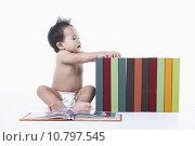 Купить «people human child sitting asian», фото № 10797545, снято 27 июня 2019 г. (c) PantherMedia / Фотобанк Лори