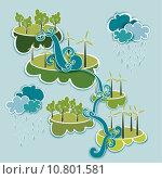 Купить «Go green energy concept», иллюстрация № 10801581 (c) PantherMedia / Фотобанк Лори