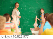 Купить «Learning mathematics», фото № 10823977, снято 25 августа 2019 г. (c) PantherMedia / Фотобанк Лори