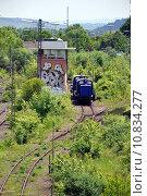 Купить «vehicle train engine railway locomotive», фото № 10834277, снято 18 февраля 2020 г. (c) PantherMedia / Фотобанк Лори