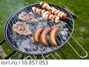 Купить «Cooking on the barbecue grill», фото № 10857053, снято 22 июля 2019 г. (c) PantherMedia / Фотобанк Лори