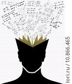 Купить «Education icons back to school human head book.», иллюстрация № 10866465 (c) PantherMedia / Фотобанк Лори