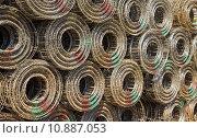 Купить «Steel mesh », фото № 10887053, снято 22 июля 2019 г. (c) PantherMedia / Фотобанк Лори