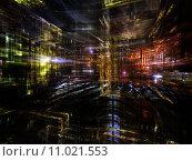 Купить «Advance of Fractal Metropolis», фото № 11021553, снято 22 июля 2019 г. (c) PantherMedia / Фотобанк Лори