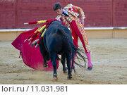 Купить «bullfight in Spain», фото № 11031981, снято 23 января 2019 г. (c) PantherMedia / Фотобанк Лори